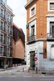 All'aperto vista di CaixaForum Madrid Immagini Stock