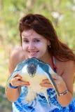 All'azienda agricola della tartaruga Fotografie Stock