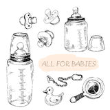 All for babies Royalty Free Stock Photos