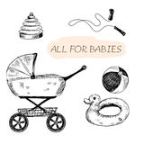 All for babies Stock Images