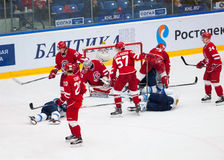 All barys men fall down Stock Images