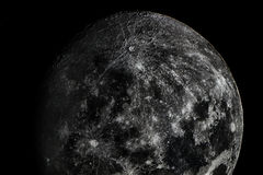 All the beauty of the moon Stock Image