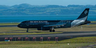All Blacks Plane Royalty Free Stock Image