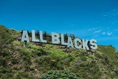 All Blacks - World Champions Royalty Free Stock Photo
