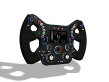 Free All Button On Steering Wheel F1 Race Royalty Free Stock Photo - 120111215