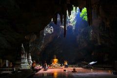 Tham Khao Luang Cave, Phetchaburi Province, Thailand stock image
