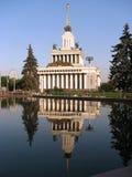 all center utställning moscow russia arkivfoto