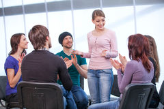 All clapping Royalty Free Stock Photography