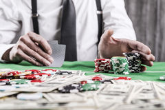 All in. Royalty Free Stock Images
