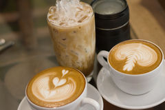 All coffee late Royalty Free Stock Photos