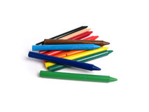 All colors crayons Stock Photo