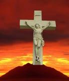 all crusified golgotha jesus ransom Arkivfoto