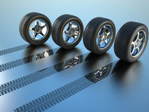 All Drive Wheel Royalty Free Stock Images