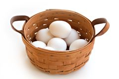 All Eggs in One Basket Royalty Free Stock Image