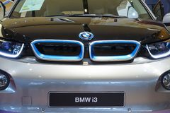 All-elkraft bil BMW i3 Arkivfoton