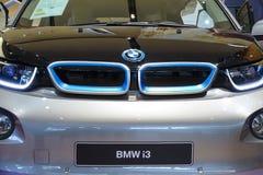 All-elkraft bil BMW i3 Arkivfoton