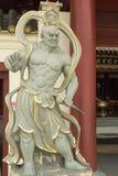 All'entrata nel tempio buddista Fotografia Stock Libera da Diritti