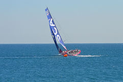 Sailing Yachting, The All Female Crew Team SCA Volvo Ocean Yacht Race Stock Photo