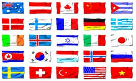 All flags Stock Image