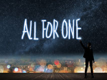 Free All For One Stock Images - 57035154