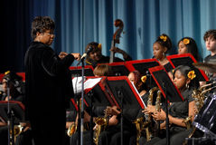All girls jazz band Royalty Free Stock Photos