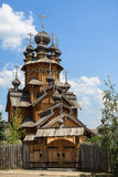 All Hallows Hermitage in Svyatogorsk. The gate and the church of All Hallows Hermitage in Svyatogorsk, Ukraine Stock Photos
