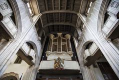 All-Hallows-by-the-Tower Church in London Stock Photography