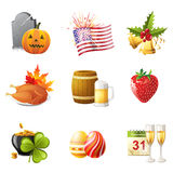 All holidays Royalty Free Stock Photos