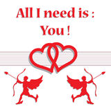All I need is you Stock Images