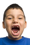 All I want for Christmas - two teeth missing Stock Images