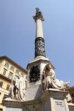 All Immacolata de Monumento en Roma Foto de archivo libre de regalías