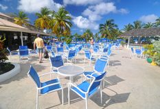 All inclusive resort royalty free stock image