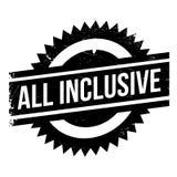 All Inclusive rubber stamp Stock Photo