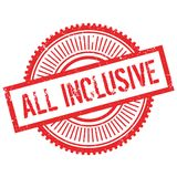 All inclusive stamp Royalty Free Stock Photo