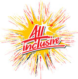 All_inclusive_star_hs illustration libre de droits