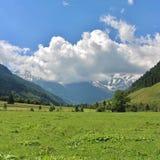 All'inizio di alta strada alpina di Grossglockner, Ferleiten, Austria Fotografie Stock