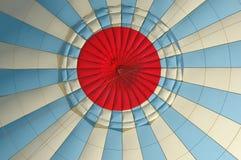 All'interno del baldacchino di un aerostato ad aria calda Fotografie Stock Libere da Diritti