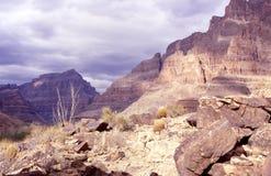 All'interno del canyon Immagini Stock Libere da Diritti