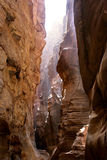 All'interno del canyon Fotografie Stock