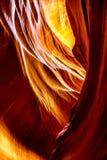 All'interno del canyon dell'antilope Immagine Stock