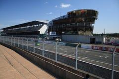 All'interno del circuito del 24h di le Mans Fotografia Stock Libera da Diritti