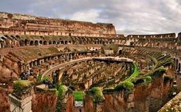 All'interno del Colosseum Fotografia Stock Libera da Diritti