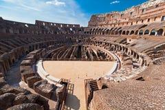 All'interno del Colosseum Fotografie Stock Libere da Diritti