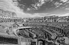All'interno del Colosseum Immagini Stock Libere da Diritti
