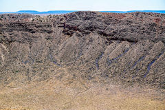 All'interno del cratere Fotografia Stock Libera da Diritti