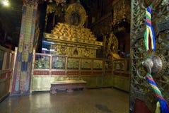All'interno del palazzo di Potala fotografie stock libere da diritti