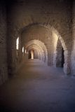 All'interno del ribat Monastir, la Tunisia Fotografia Stock