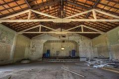 All'interno del teatro della fortificazione Sherman. Immagine Stock
