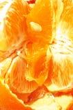 All'interno dell'arancio fotografia stock libera da diritti