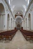 All'interno della cattedrale Immagini Stock